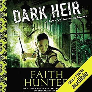 Dark Heir     Jane Yellowrock, Book 9              Written by:                                                                                                                                 Faith Hunter                               Narrated by:                                                                                                                                 Khristine Hvam                      Length: 16 hrs and 12 mins     6 ratings     Overall 4.8