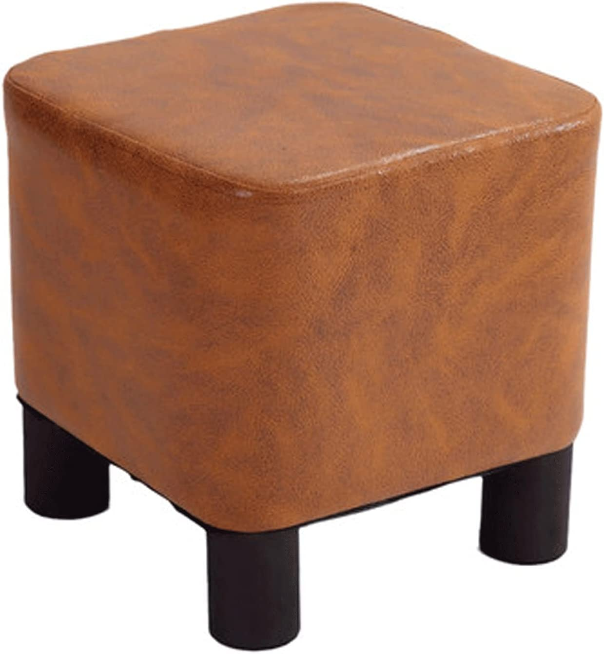 AITAOZI Free Max 82% OFF shipping Solid Wood Shoe Changing Fabric St Stool Household Small