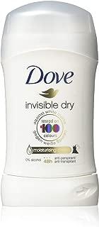 Dove Invisible Dry Anti-Perspirant Deodorant Stick 40ml (PACK OF 4)