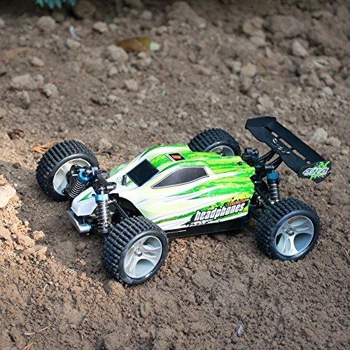 RC Buggy kaufen Buggy Bild 1: efaso WL Toys A959-B Zusatzakku - schneller RC Buggy 70 km/h schnell, wendig, voll digital proportional - 2.4 GHz RC Auto mit Allradantrieb - Maßstab 1:18, hoher Fun Faktor*