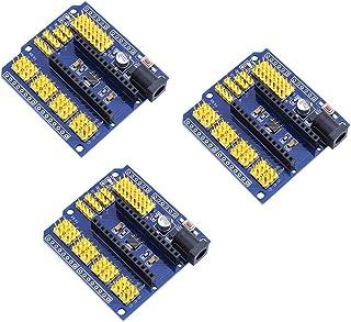 Teyleten Robot SongHe Nano I/O Expansion Sensor Shield Module for Arduino UNO R3 Nano V3.0 / Nano Pro Compatible UNO R1 Du...