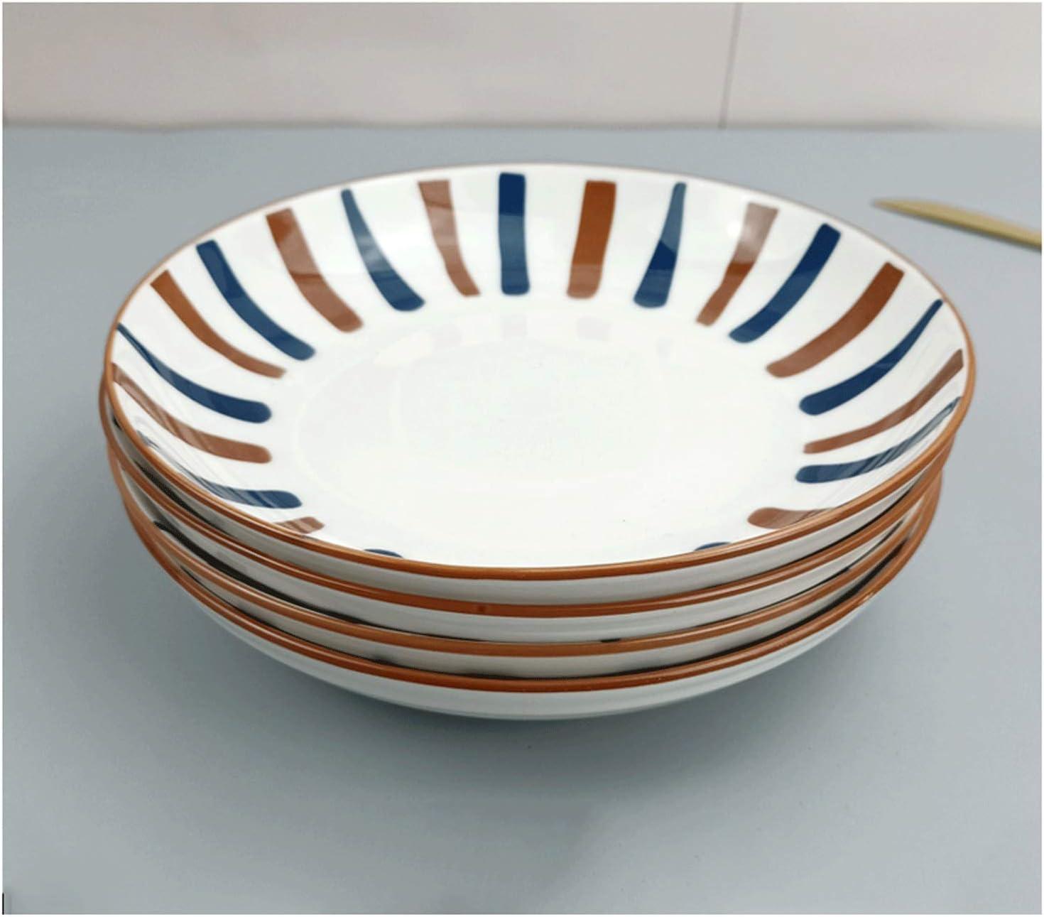 Purchase Dinner Plate Ceramic Appetizer Serving Pasta Steak Award-winning store
