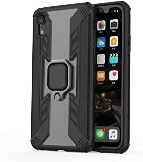 Buckle Bracket Design for iPhone XR,Iron Warrior Shockproof TPU + PC Protective Case, with 360 Degree Rotation Holder (Col...