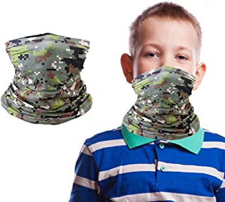 Kids Summer Protection Bandana Face Cover Neck Gaiter...