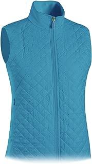 Monterey Club Ladies Quilted Microfiber Foil Dotty Vest #2787