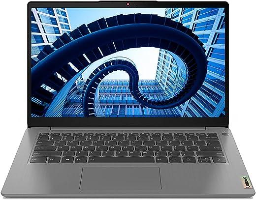 Lenovo IdeaPad Slim 3 2021 Intel Core i3 11th Gen 14 inches FHD, LED IPS T&L Business, Laptop (8GB/256GB SSD/Windows 10/MS Office/Backlit/Fingerprint Reader/Arctic Grey/1.41kg) 82H700J8IN