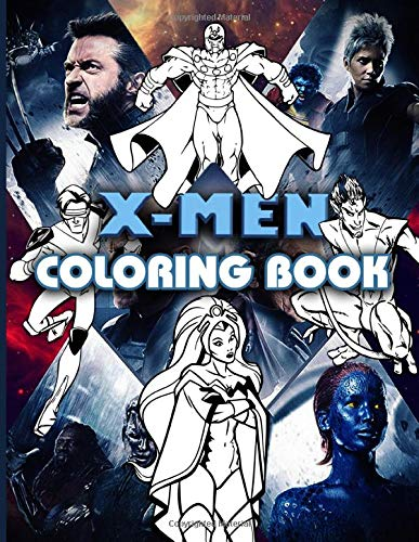 Xmen Coloring Book: Perfect Gift An Adult Coloring Book