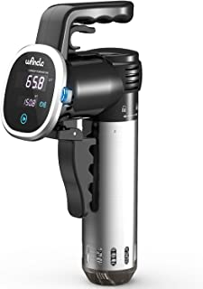 Wancle SVC001 Sous Vide Cooker, Thermal Immersion Circulator, with Recipe E-Cookbook, Accurate Temperature Digital Timer, ...