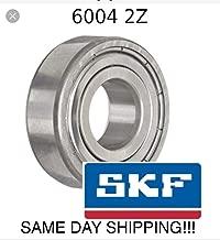 6004-ZZ, SKF Brand 6004 ZZ Double Shield, 20x42x12 mm SAME DAY SHIPPING!!!