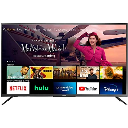 Toshiba 43LF621U21 43-inch Smart 4K UHD with Dolby Vision - Fire TV Edition, Released 2020