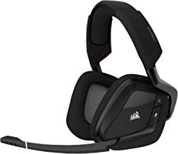 Corsair VOID PRO Wireless RGB, Auriculares Gaming (Pc, Dolby 7.1), Inalámbrico, Negro