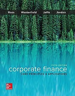 Corporate Finance: Core Principles & Applications (1259289907)   Amazon price tracker / tracking, Amazon price history charts, Amazon price watches, Amazon price drop alerts