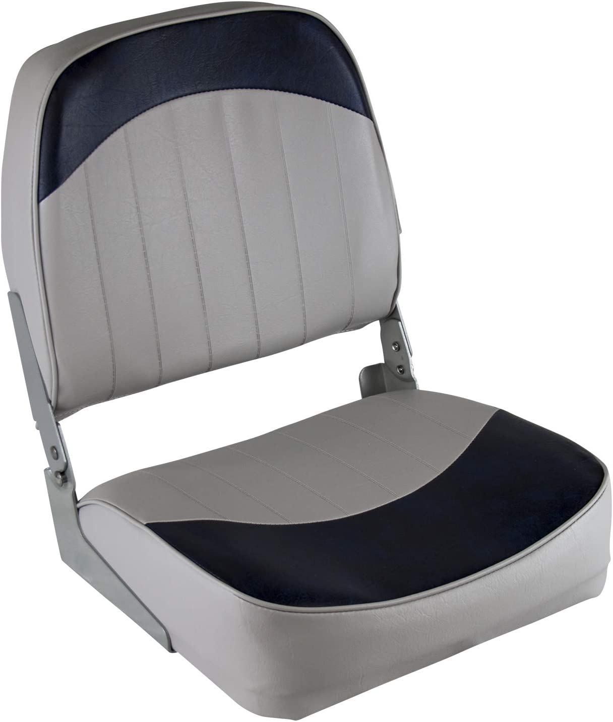 Wise 8WD734PLS-660 Low Back New favorite color Seat Grey Boat Blue