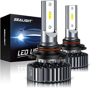 SEALIGHT 9005 HB3 LED Headlight Bulbs High Beam Conversion Kit, S1 Series 12xCSP Chips 9145 Fog Lights - 6000LM 6000K White