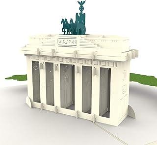 PaperCrush® Pop-Up Karte Berlin Brandenburger Tor NEU! - 3D