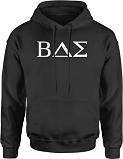 Expression Tees BAE Greek Lettering Fraternity Sorority Unisex Adult Hoodie
