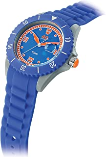 40Nine Japanese-Quartz Watch with Silicone Strap, Blue, 22 (Model: 40NINE02/PERI30)
