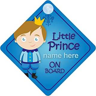 La princesse Thea à bord personnalisé bébé fille VOITURE SIGNE