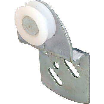 Slide-Co 16769 Closet Door Roller with 11//16-Inch Steel Center Grooved Wheel, Pack of 2
