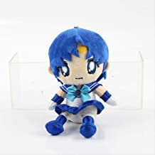 qwertt Juguete De Peluche Sailor Moon Chinbi Moon Jupiter Mars Chiba Mamoru Luna Artemis Diana Cat 20cm Pelo Azul