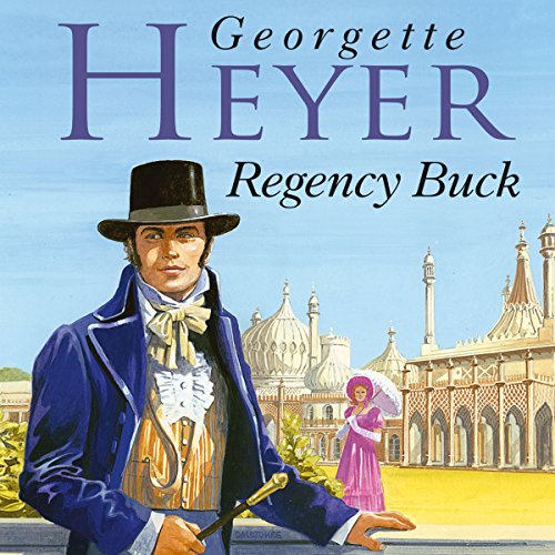 Regency Buck audiobook cover art
