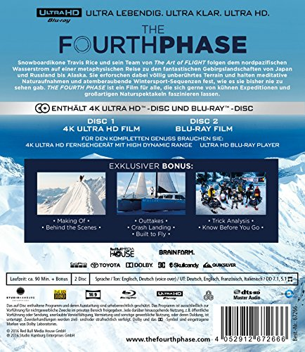 The Fourth Phase [4K Ultra HD + Blu-ray] [2 Blu-rays]
