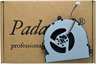 Padarsey Replacement CPU Cooling Fan for HP 15-AC 15-AC622TX 15-ac032no 15-ac033no 15-ac042ur 15-ac121dx 15-ac029ds 15-ac120nr 15-ac137cl 15-ac023ur Series Compatible Part Number 813946-001