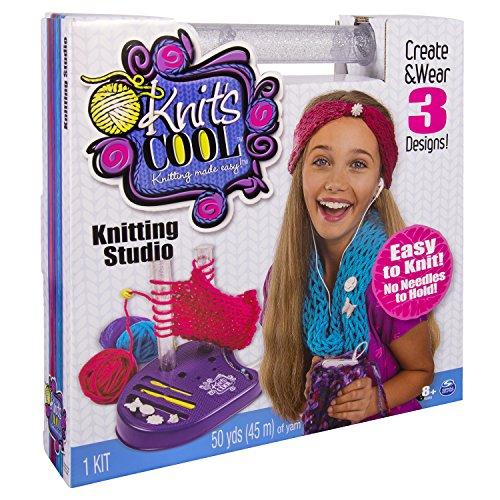 Spin Master 6025044 - Knits Cool - Knitting Studio