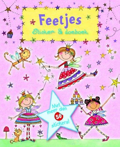 Feetjes Sticker doe-boek / druk 1