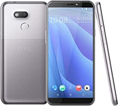 HTC Desire 12s (2Q72100) 5.7 inchs with 3GB RAM / 32GB Storage, (GSM ONLY, NO CDMA) Factory Unlocked International Version No-Warranty Cell Phone (Silver)