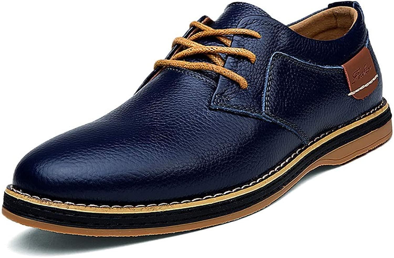 CHENDX Schuhe, Herrenmode Casual Niedrige Niedrige Top Einfache Einfarbig Oxford Samt Fleece Gefüttert Halb Formale Schuhe (Konventionell Optional) (Farbe   Blau, Größe   44 EU)  fabrik direkt