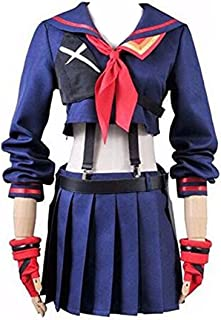 Expeke Halloween Girl's Battlesuit Matoi Dress Outfit Cosplay Costume