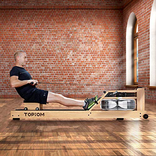 MorNon Home Rowing Machine Woode...