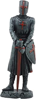 Ebros Holy Roman Empire Templar Crusader Knight With Sword And Shield Statue 6