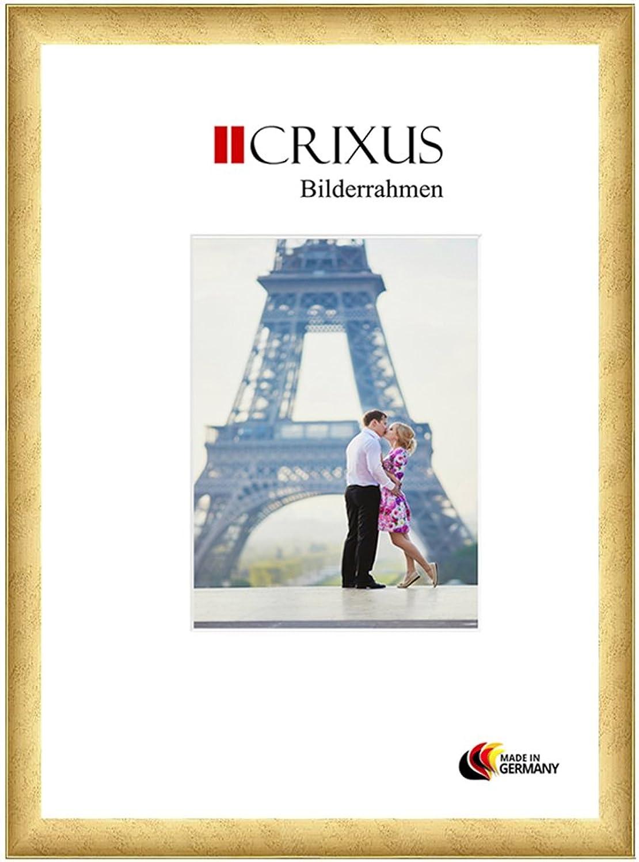 los últimos modelos CRIXUS Crixus30 Marco de Fotos de Madera SóLIDA para para para 10 x 96 cm Fotos, Color  oro, con Vidrio acrílico antirreflectante (1mm), Ancho del Marco  30mm, Tallas externas  14,8 x 100,8 cm  entrega gratis