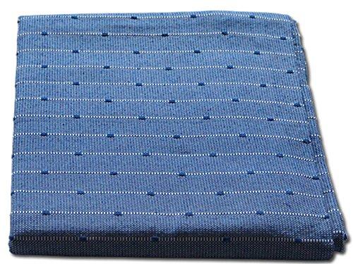 Lanovenanube - Plaid Multiusos Kenya 180x270 - Azul