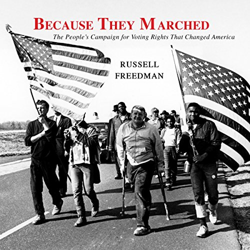Because They Marched audiobook cover art