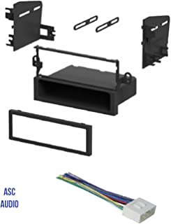 ASC Car Stereo Install Dash Kit and Wire Harness for Installing an Aftermarket Single Din Radio for some Suzuki and Daewoo Vehicles - Compatible Vehicles Listed Below