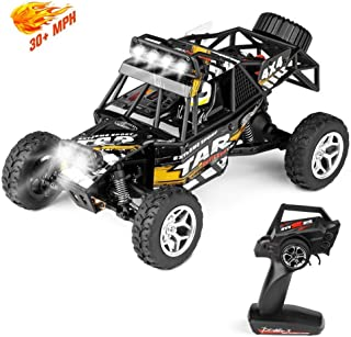 geekper Terrain rc Cars,led Light Remote Control car,Electric Remote Control Truck Off Road Monster Truck, 1:18 Scale 2.4g...