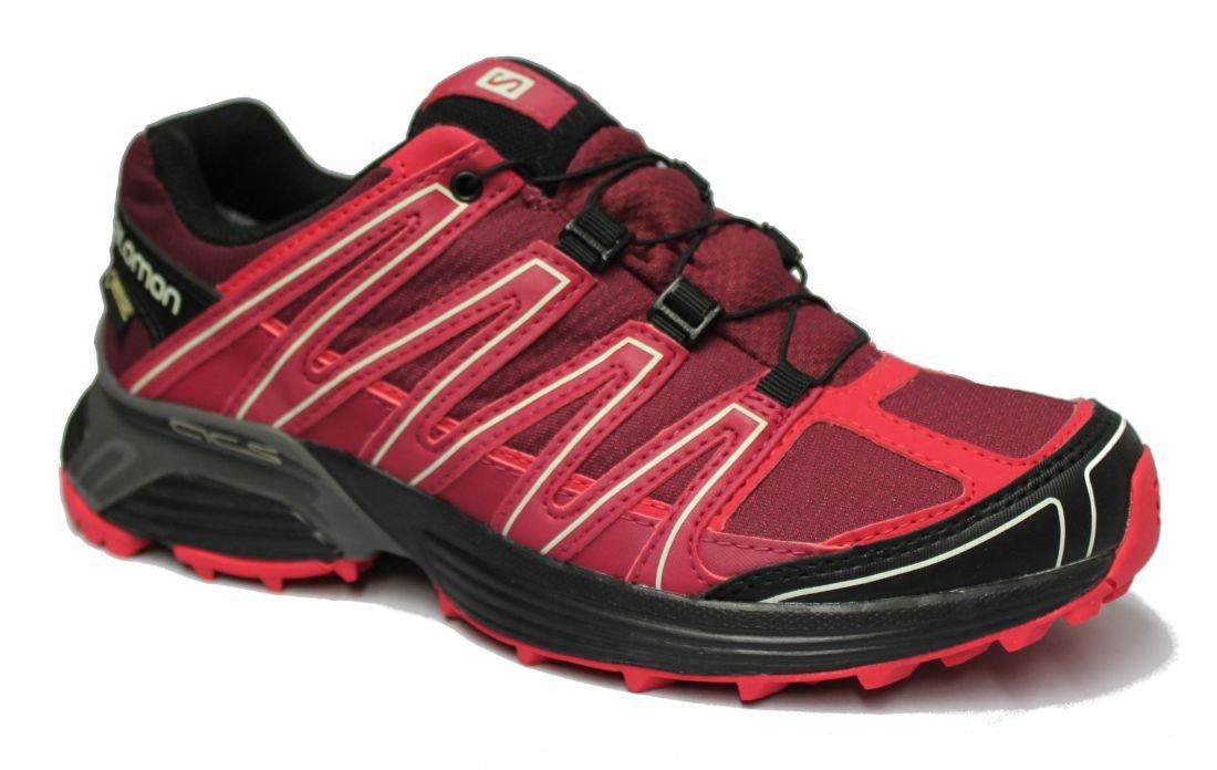 Salomon Zapatillas para mujeres para correr Zapato XT Tucana GTX W Color burdeos rojo/rosa - burdeos/crema/rosa claro, 39: Amazon.es: Deportes y aire libre