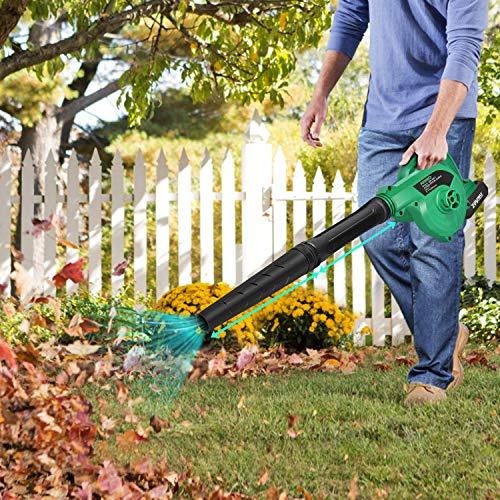 yard vacuum for acorns