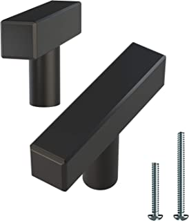 Alpine Hardware | T-Bars and T-Knobs | Kitchen Cabinet Hardware/Dresser Drawer Handles ([2