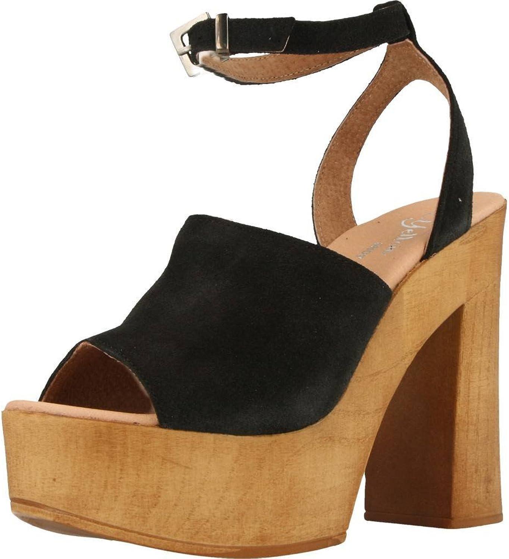 Sandalen Sandaletten, Farbe Farbe Farbe Schwarz, Marke Gelb, Modell Sandalen Sandaletten Gelb KIELD Schwarz  7c6501