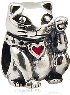Queen Bee Charm Pendant 925 Sterling Silver Bead Caribbean Pirate Viking Pig Cat Giraffe Bear Squirrel Dog Bird Animal Charms Fits European DIY Charm Bracelet Necklace