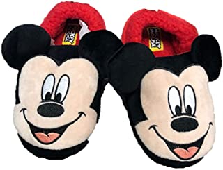 Mickey Mouse Disney Boys Original Slide on Slippers Minnie Mouse