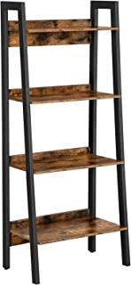 VASAGLE Ladder Shelf, 4-Tier Home Office Bookshelf,...