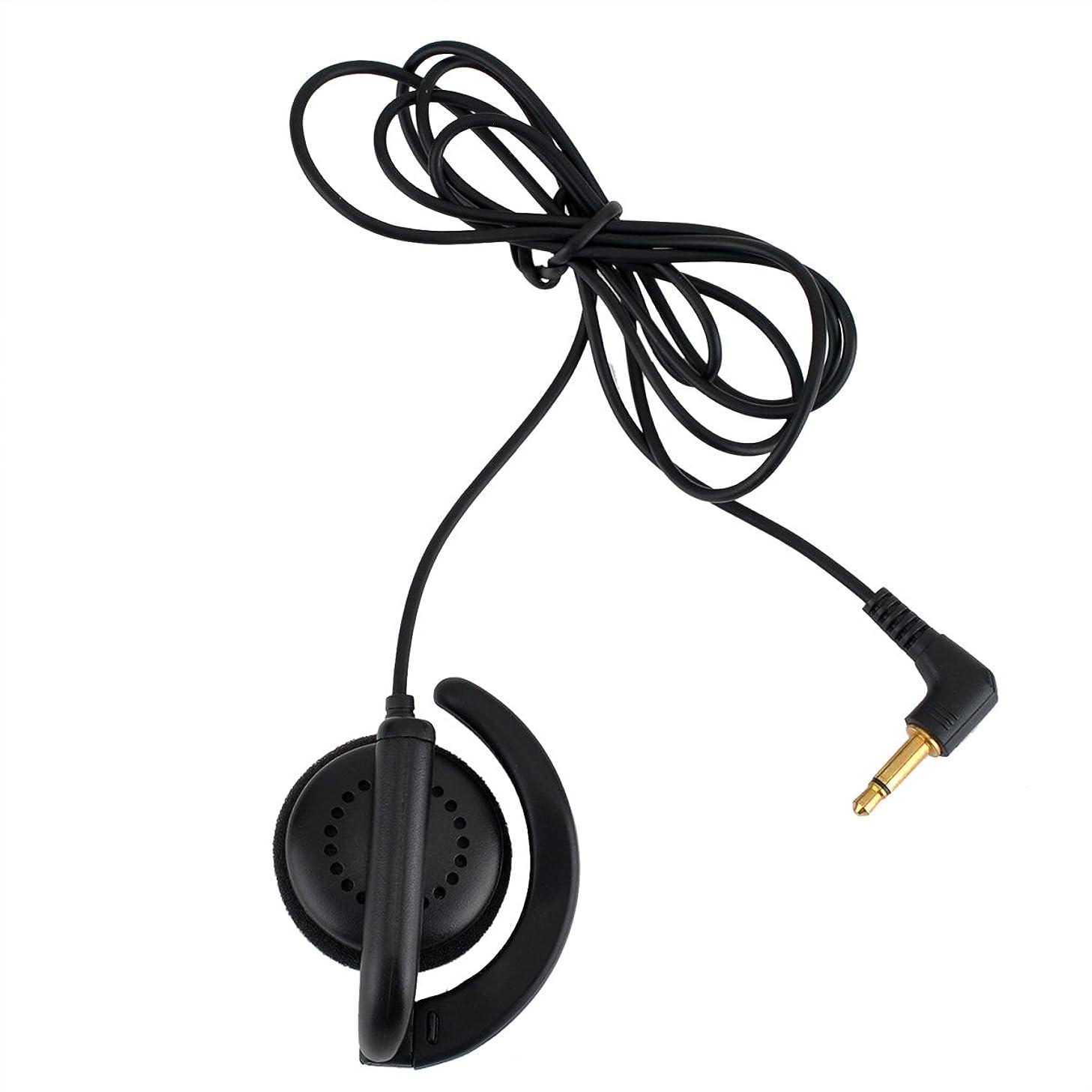 KEYBLU Listen Only Earpiece 1 Pin 3.5mm Receiver/Surveillance Headset Earpiece for Two-Way Radios