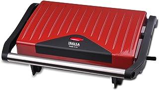 Inalsa Sandwich Grill Toaster Toast & Co 750 Watt (Red / Black)