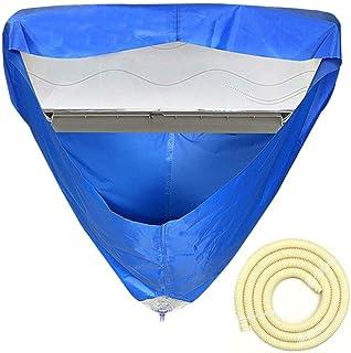 Ardentity - Funda protectora para limpieza, grosor suspendida, funda de limpieza de tejido impermeable para limpiar los aire acondicionado de pared doméstica universal, -, L