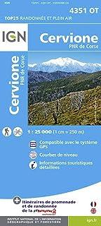 Amazon Fr Carte Ign Corse